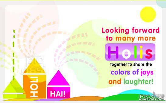 Many More Holis Together Holi Picture