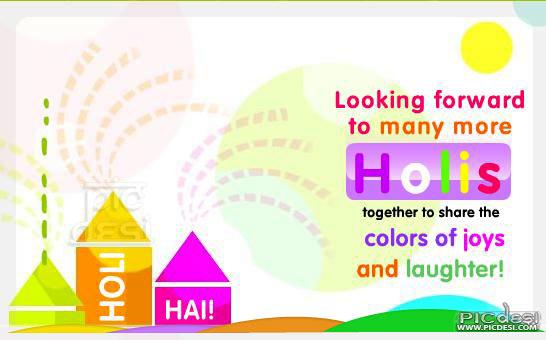 Many More Holis Together Holi