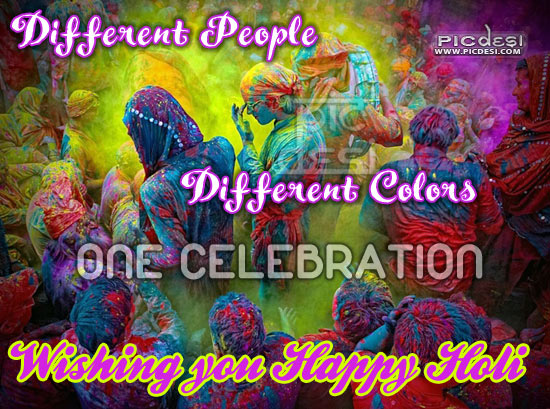 Wishing you Happy Holi Holi Picture