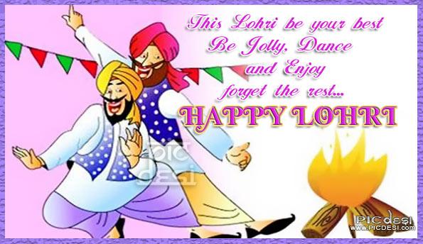 This Lohri be your best & Enjoy Lohri Picture
