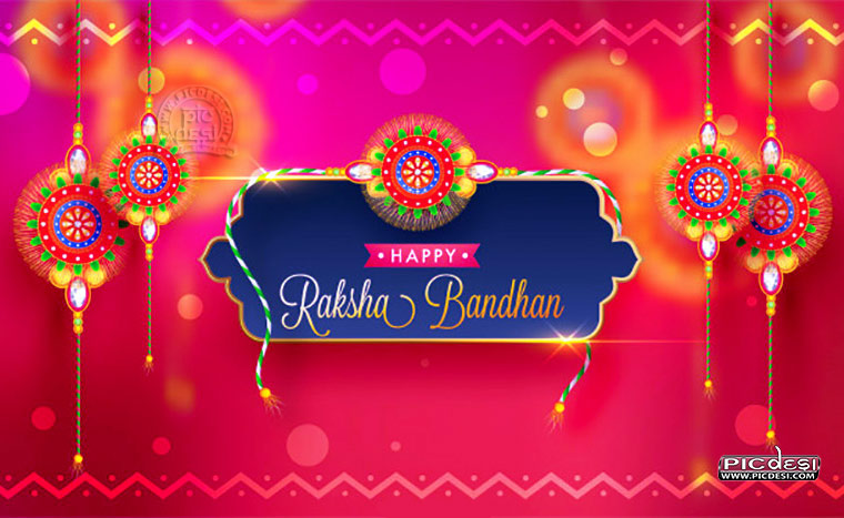 Happy Raksha Bandhan Wishes Card Raksha Bandhan Picture
