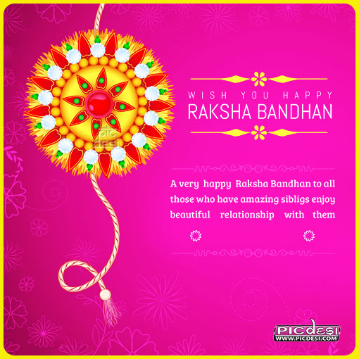 Wish You Happy Raksha Bandhan Raksha Bandhan Picture