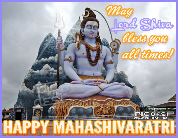 Happy Maha Shivaratri May Lord Shiva Maha Shivaratri Picture
