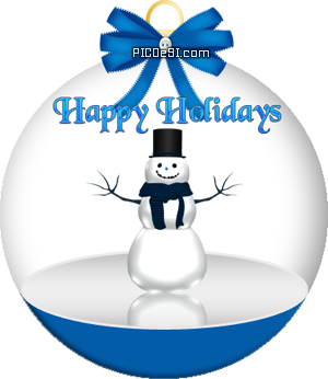 Happy Holidays Iceman Globe Happy Holidays Picture