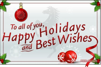 Happy Holidays and Best Wishes Happy Holidays Picture