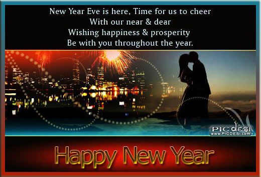 Happy New Year Be with You New Year Picture