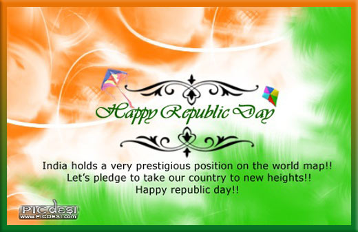 Happy Republic Day To New Heights Republic Day Picture