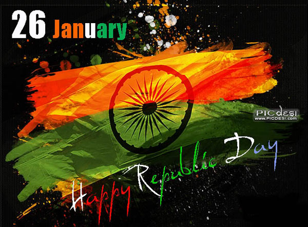 Happy Republic Day January 26 Republic Day