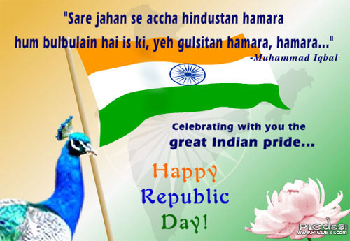 Happy Republic Day   Great Indian Pride Republic Day