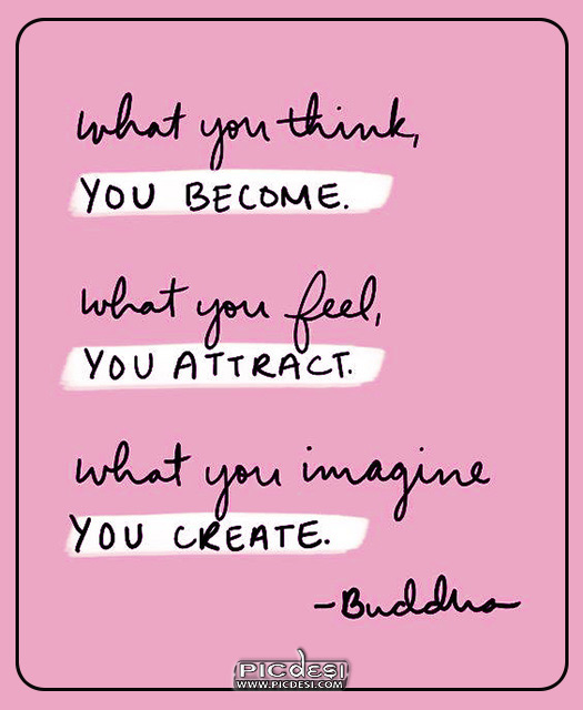 Budha Quote What you think Quotes Picture