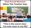 Link to When the teacher says