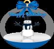 Link to Happy Holidays Iceman Globe